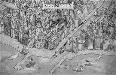 Second City by Sapiento