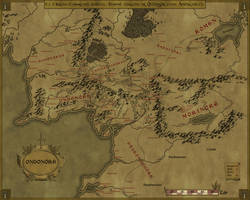 Gondor at its height by Sapiento