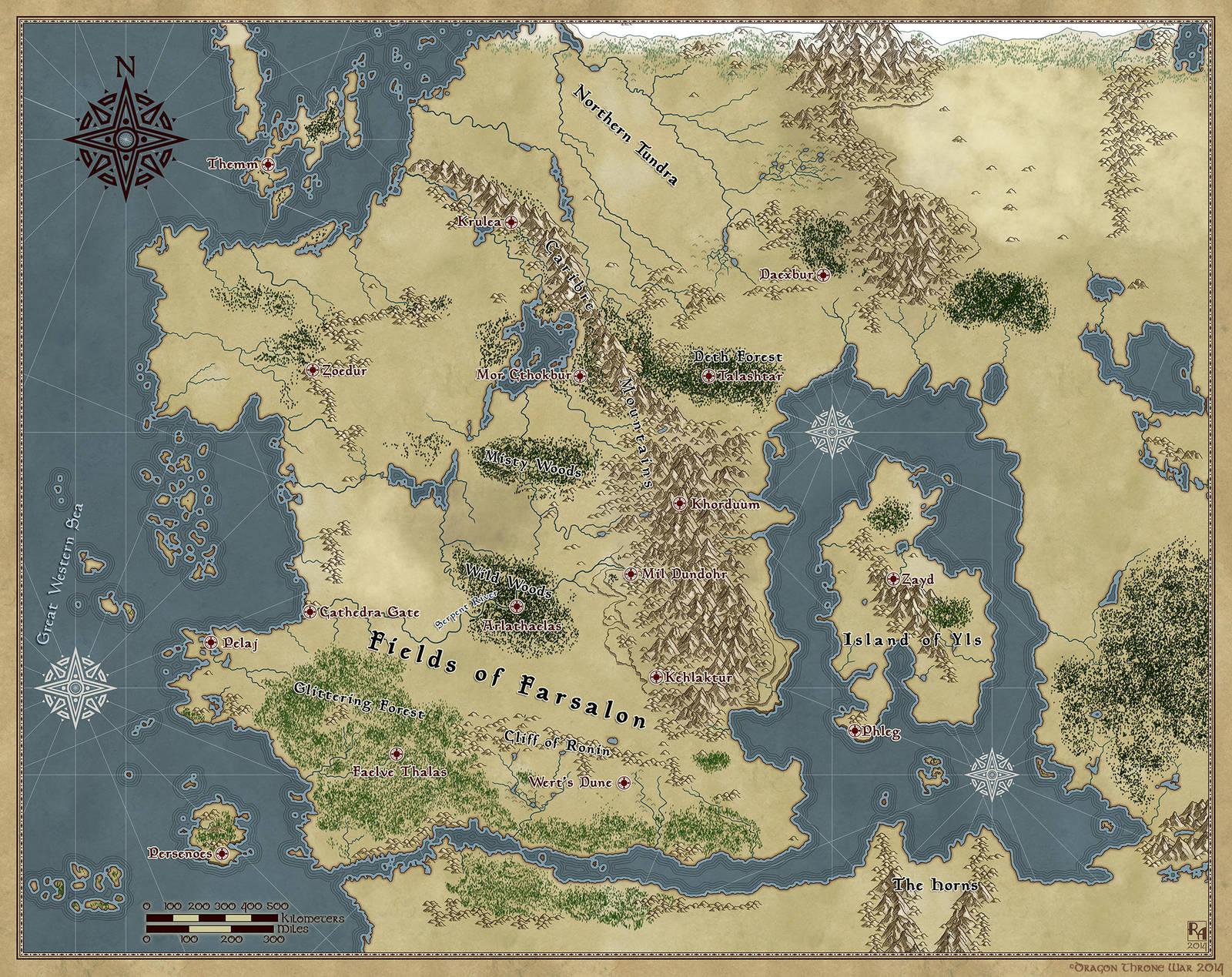 The World of Calibran by Sapiento