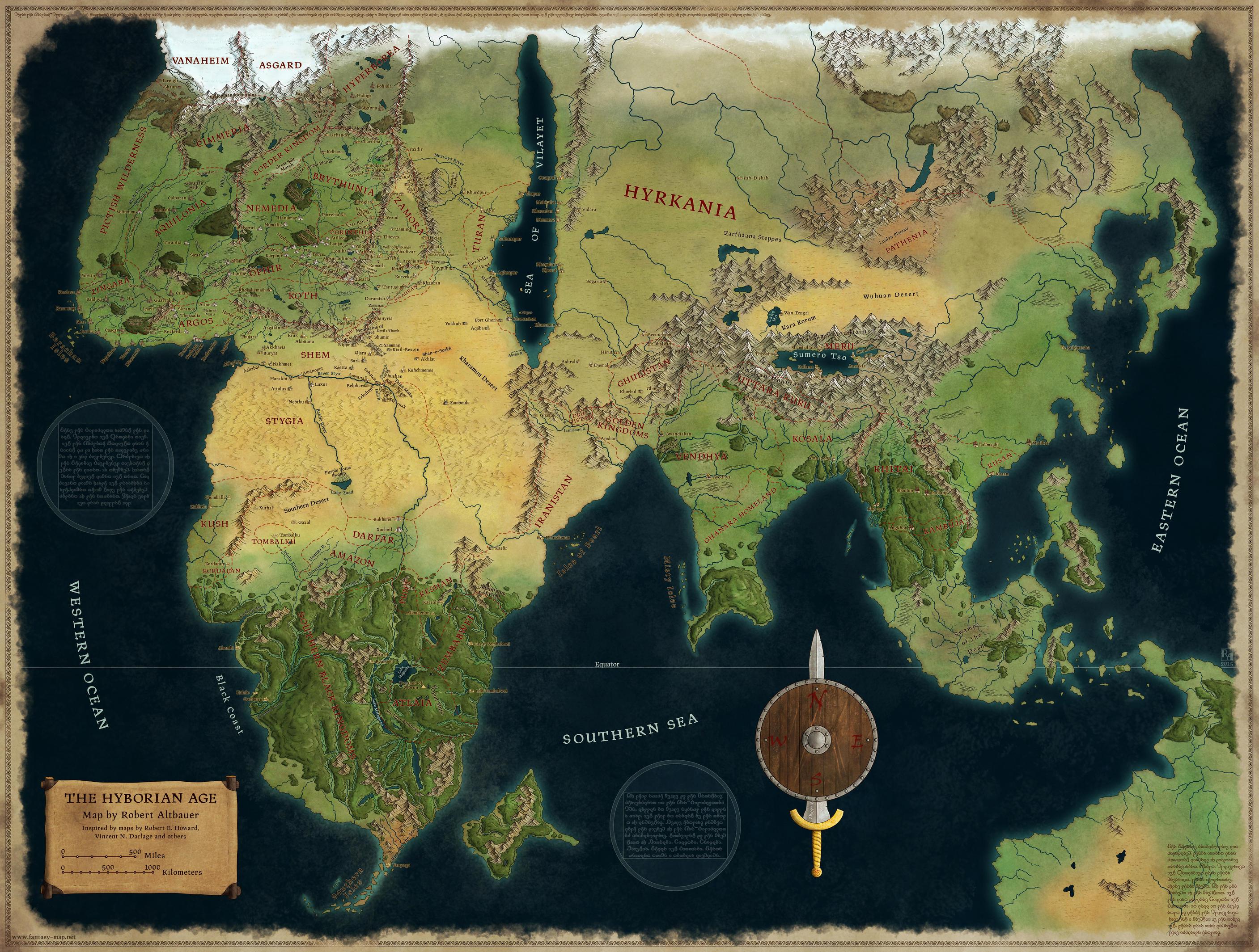 The Hyborian Age by Sapiento