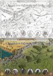 The Borderland of Karandor and Durhan by Sapiento