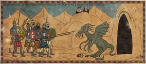 Terrible dragon spawn by Sapiento