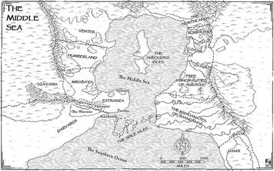 The Nations of the Middle Sea by Sapiento