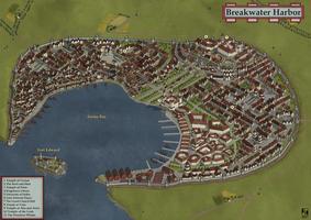 Breakwater Harbor by Sapiento