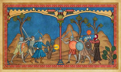 Final Battle by Sapiento