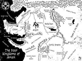 Four Kingdoms of Aman by Sapiento