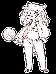 Lizardwoman noodelhead by timjammi