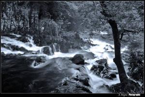 welsh river falls by alanclimb