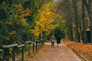 Autumn in Segovia by ordre-symbolique