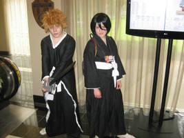 Animaritime: Ichigo and Rukia by Kurohisagi