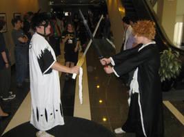 Animaritime: Ichigo vs Zaraki by Kurohisagi