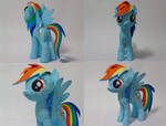 Rainbow Dash Papercraft by Cat-Morrison
