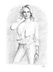 Charlize Theron by ffgoldensun
