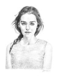 Emilia Clarke by ffgoldensun