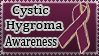 Cystic Hygroma Awareness-Stamp by QueenDanny