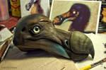 Dodo sculpt (skin painting) by DonnKinney
