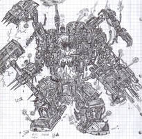 High mechmaster Izor by Kryol
