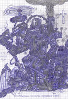 Techpriest by Kryol