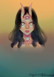 Akuma by KittyClawss