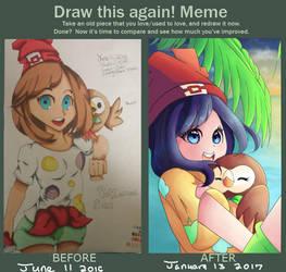 Improvement Meme by KittyClawss