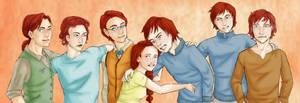 Weasley Kids by Nanamy