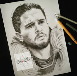 Jon Snow by emicathe