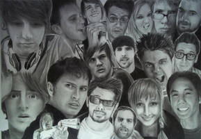 The Ultimate YouTube Drawing by Lewis3222