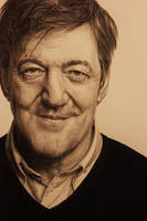 Stephen Fry Portrait by Lewis3222