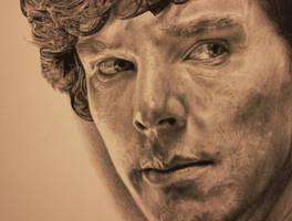 Sherlock holmes Drawing by Lewis3222