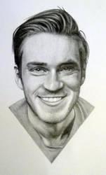 Pewdiepie Drawing by Lewis3222