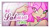 Sakura fan Stamp 1/3 by Saku28