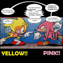 Yellow vs Pink by ShanahaT