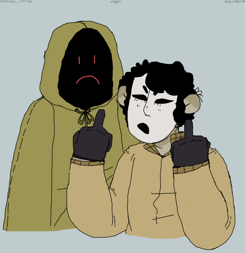 Local masked gays,, by RPGCATZ