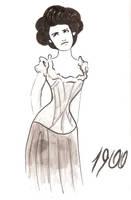 XX Fashion - 1900 by assiralc