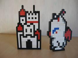 Lego - Mog and castle by Turoel