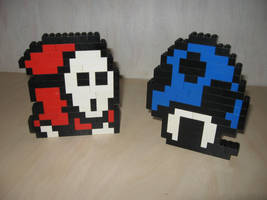 Lego - Shyguy and shroomhouse by Turoel