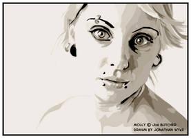 Molly Carpenter by JonathanWyke