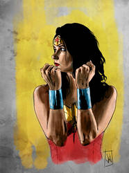 Wonder Woman colour play by JonathanWyke