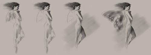 Fairy - Work in progress part 2 by Theotenai