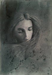 Portrait in charcoal #2 by Theotenai