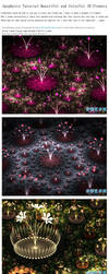 Apophysis Tutorial:Beautiful Colorful 3D Flowers by fengda2870