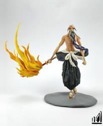 Captain Yamamoto Genreyusai Polymer Clay Figure by BL-ea-CH