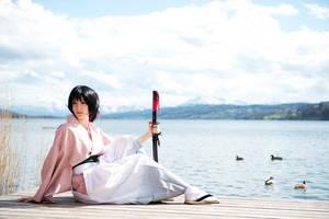 Chizuru Yukimura - Resting by RomaiLee