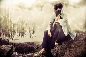 Kondo Isami - Resting by RomaiLee