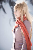 Winry Rockbell - Winter at Briggs by RomaiLee