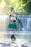 Leafa - Dancing Water by RomaiLee