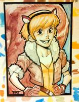 Sketch Card : Squirrel girl by nork
