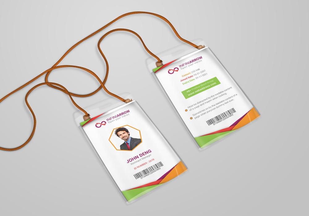 Multipurpose Business Id Card Template By Dotnpix On Deviantart