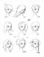 Hair Styles Vol 16 by FabledCreative