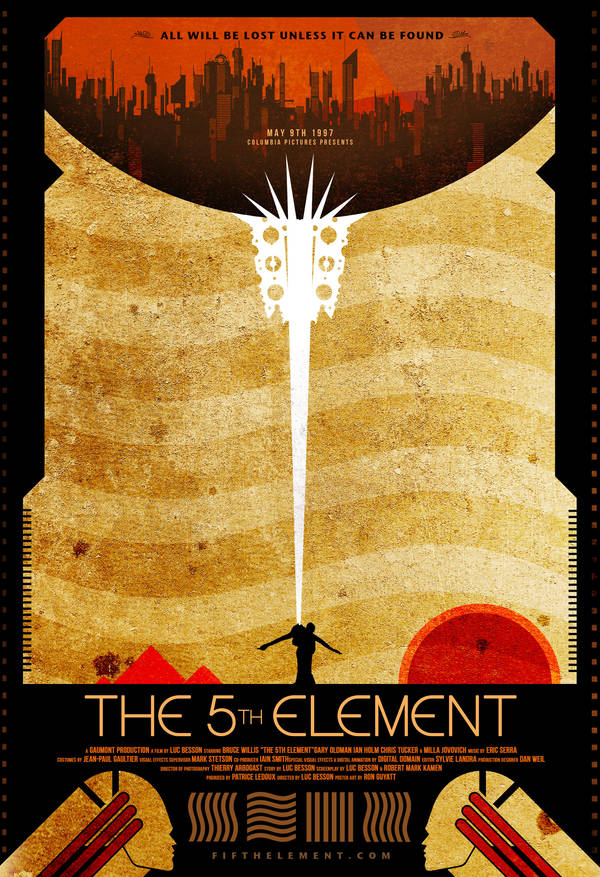 The Fifth Element by FabledCreative